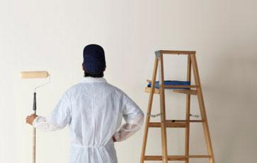 Dažymo darbai   Sienų dažymas   Lubų dažymas